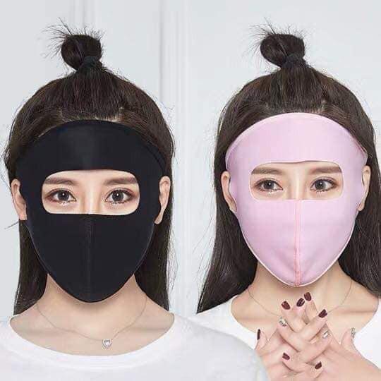 Hè năm nay chị em lại đổ xô đi mua khẩu trang ninja kín mít, hở mỗi 2 con mắt-5