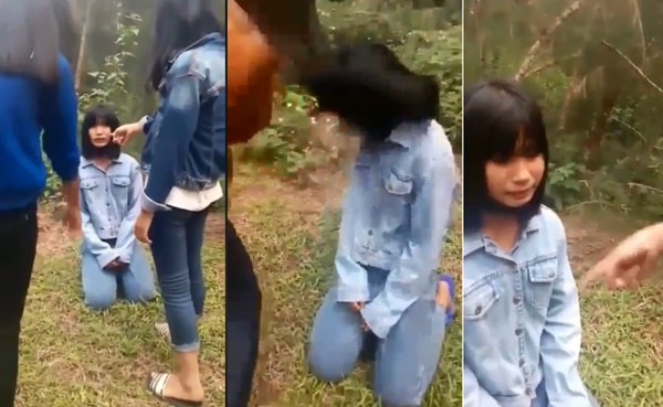 Nữ sinh lớp 7 bị bạn bắt quỳ gối, tát liên tiếp vào mặt: Sở GD&ĐT Nghệ An lên tiếng-1