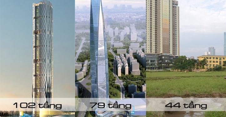 Toà tháp chọc trời kỷ lục Việt Nam: Phận thảm siêu dự án-1