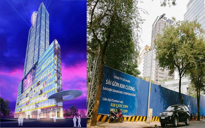 Toà tháp chọc trời kỷ lục Việt Nam: Phận thảm siêu dự án-2