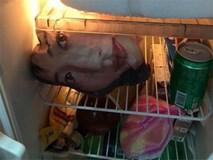 Mở tủ lạnh trong đêm, anh chồng đứng tim khi nhìn thấy gương mặt ú òa trong đó