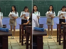 Đi tư vấn hướng nghiệp ở trường cấp 3, nữ sinh Nông Lâm được xin info ầm ầm