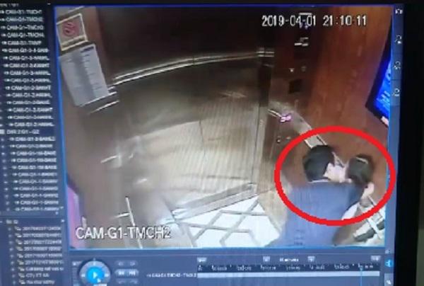 Người đàn ông sàm sỡ bé gái trong thang máy ở Sài Gòn-1