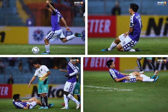 HLV Park Hang Seo, thủ môn Tiến Dũng phản ứng đầy cảm xúc khi Hà Nội FC thua ở AFC Cup 2019-8