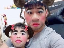 Dân mạng gọi Ba Duy - bé Đậu là cặp bố con hài hước nhất mạng xã hội