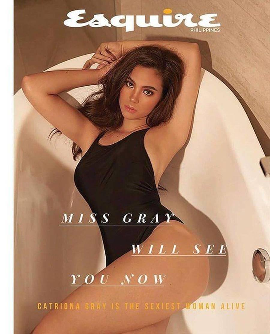 Hoa hậu Hoàn vũ 2018 Catriona Gray khoe body nóng bỏng trên tạp chí đàn ông-1