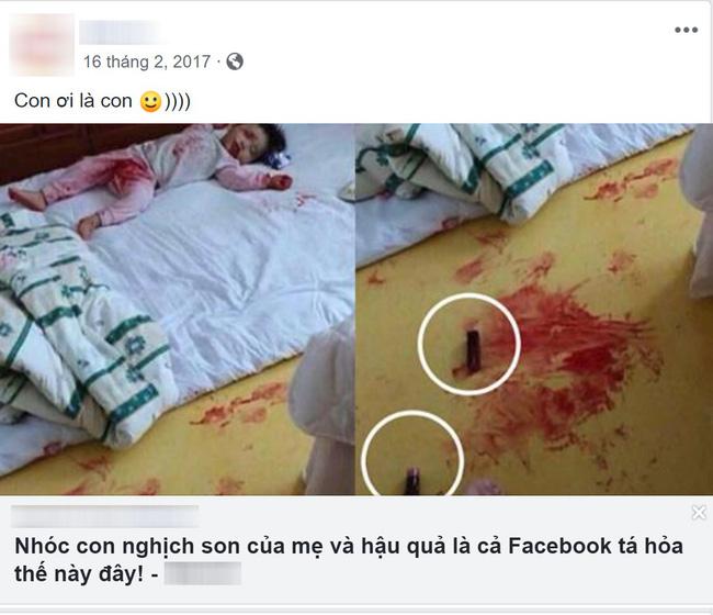 Khoe bức ảnh kinh dị và tiết lộ trò nghịch ngợm của con gái, mẹ trẻ bị dân mạng vạch trần sự thật bất ngờ-4