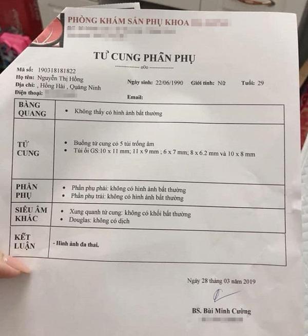 Mẹ Quảng Ninh đi siêu âm thai lần 2, bác sĩ choáng váng khi soi hình ảnh trong tử cung-1