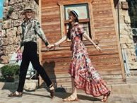 Á hậu Phương Nga, Bình An diện đẹp, dắt tay nhau du ngoạn Thổ Nhĩ Kỳ
