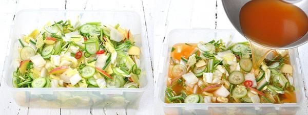 Học cách làm món dưa góp kiểu Hàn, ăn với gì cũng ngon-3