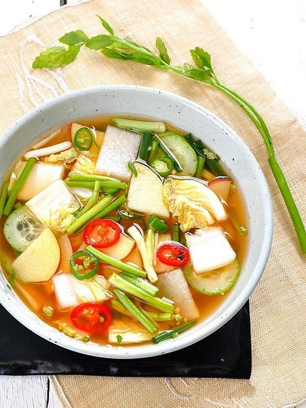 Học cách làm món dưa góp kiểu Hàn, ăn với gì cũng ngon-4