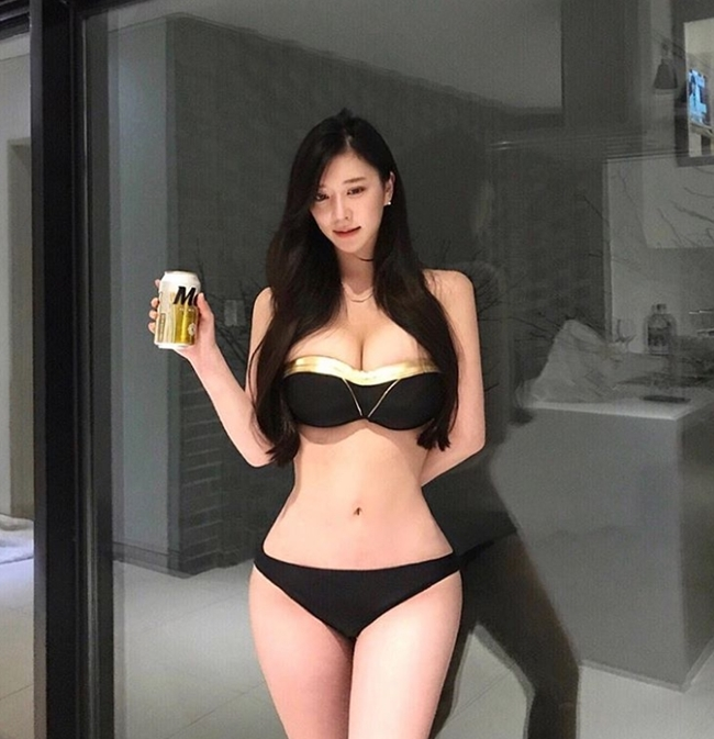 3 cô gái Hàn mặt ngây thơ, thân hình đẹp tới mức khó tin có thật-7