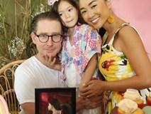 Đoan Trang thông báo mang bầu lần hai vào đúng ngày sinh nhật tròn 5 tuổi của con gái lớn