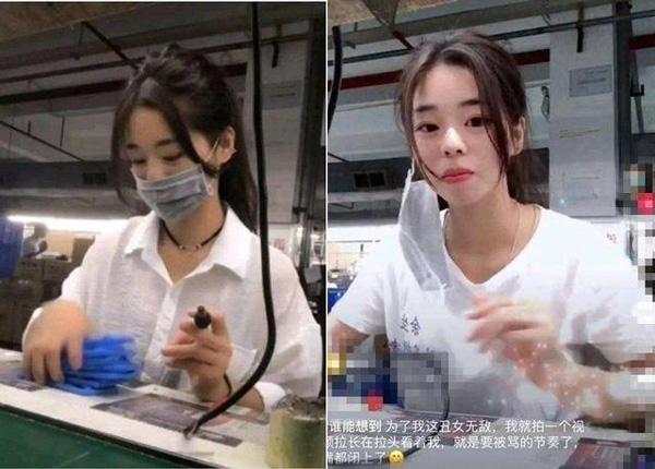 Nữ công nhân gây sốt vì quá xinh nhưng bỏ khẩu trang ra là sự thật phũ phàng-2