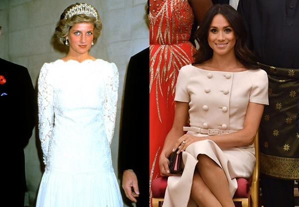 Tuyên bố mới gây sốc: Nữ hoàng Anh cấm Meghan sử dụng đồ trang sức của Công nương Diana quá cố nhưng Kate thì được phép vì lý do bất ngờ này-2