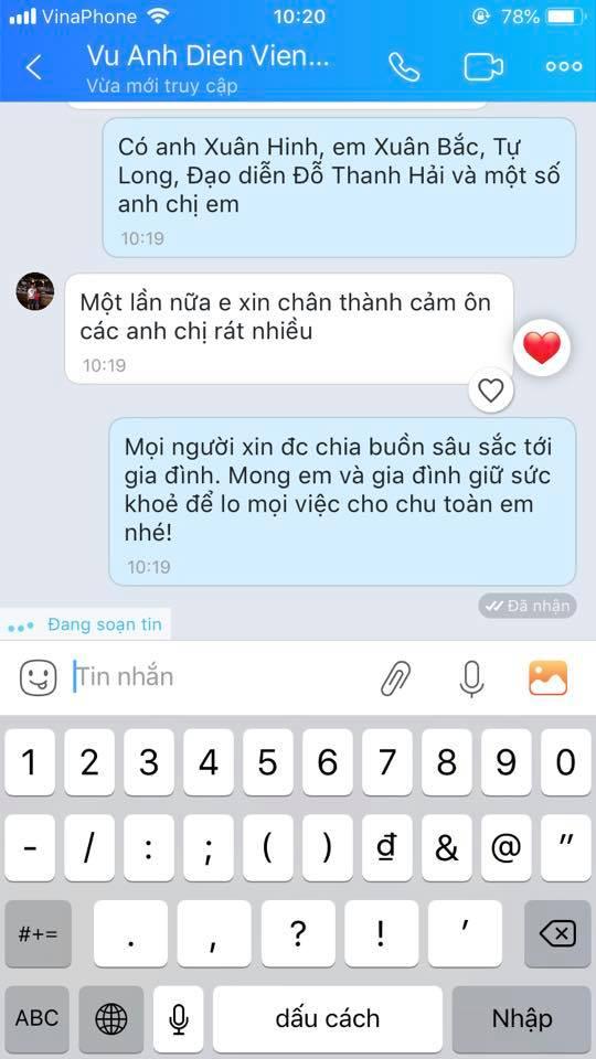 MC Thảo Vân thay mặt nhiều nghệ sĩ miền Bắc gửi tiền phúng viếng đến gia đình nghệ sĩ Anh Vũ-5