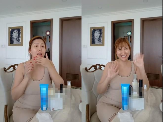 Phi Thanh Vân diện váy bó chẽn sau khi bị chê béo-2