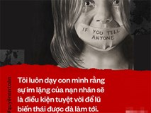 Mẹ trẻ Hà Nội công khai chuyện bị xâm hại: Đừng coi việc lên tiếng vì sự an toàn của mình là điều đáng xấu hổ!