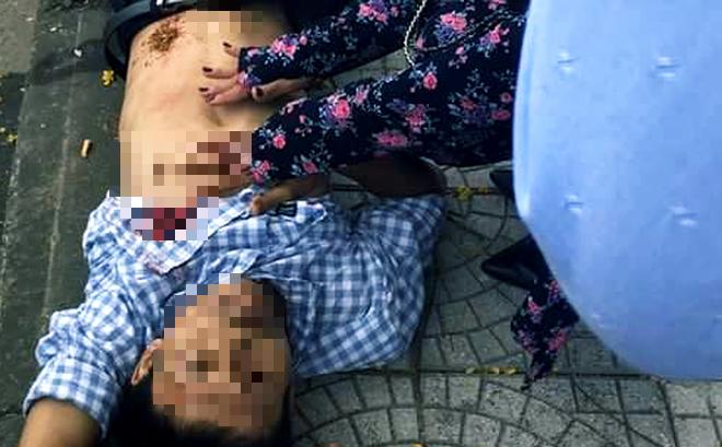 Vụ bị đâm trọng thương khi nhắc nhở đôi trai gái vượt đèn đỏ: Người nhắc nhở đã tử vong-1