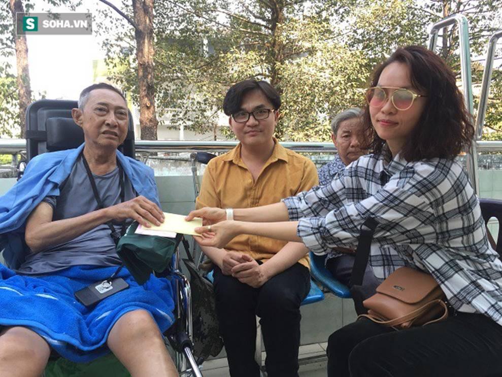 Sức khỏe của nghệ sĩ Lê Bình chuyển biến nguy hiểm, MC Đại Nghĩa gửi tặng 270 triệu đồng-2