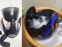Cách diệt sạch ổ vi khuẩn trên mũ bảo hiểm chỉ trong 5 phút không phải ai cũng nắm được