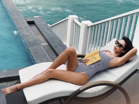Đi du lịch Quy Nhơn, siêu mẫu Hà Anh cũng không quên gợi ý cách chọn đồ bơi cho các chị em-7