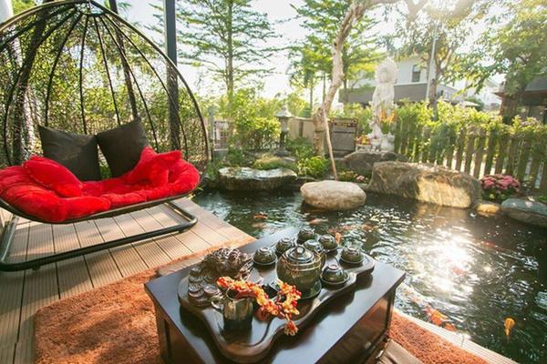 Ngắm biệt thự triệu đô bình yên với khu vườn rực rỡ sắc hoa cùng hồ cá Koi của Nhật Kim Anh giữa lòng Sài Gòn-5