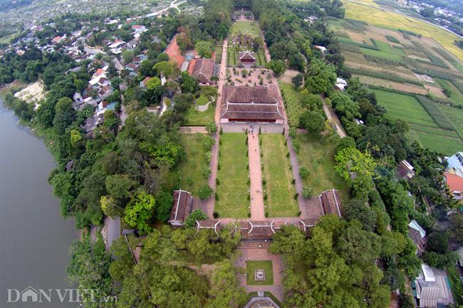 Ngôi chùa đẹp nhất xứ Huế nhìn từ trên cao-2