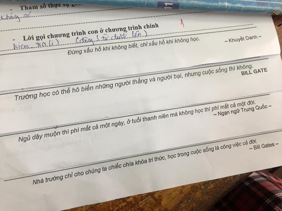 Khi thầy cô sở hữu IQ 200 làm mã đề thi: Chỉ thêm 1 dấu chấm, 1 dấu phẩy cũng khiến học sinh khóc thét-1