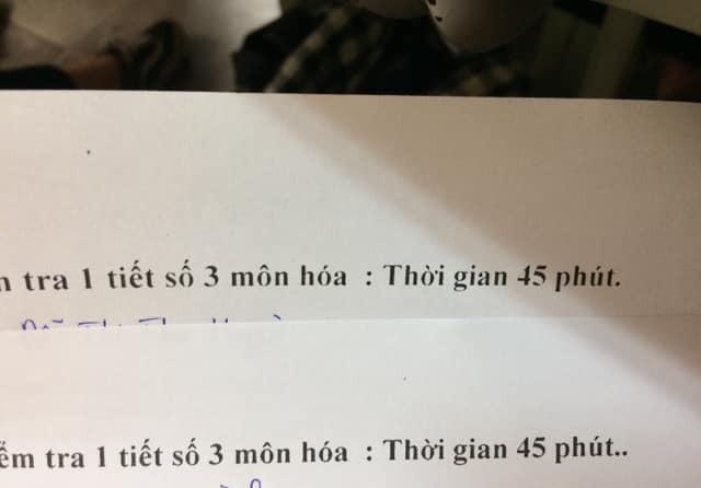 Khi thầy cô sở hữu IQ 200 làm mã đề thi: Chỉ thêm 1 dấu chấm, 1 dấu phẩy cũng khiến học sinh khóc thét-2