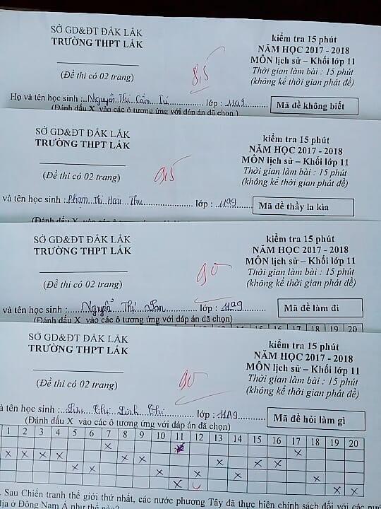 Khi thầy cô sở hữu IQ 200 làm mã đề thi: Chỉ thêm 1 dấu chấm, 1 dấu phẩy cũng khiến học sinh khóc thét-6