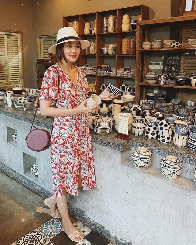 Váy hoa cỏ khoảng 300K lại trở thành hot trend mùa hè, Ngọc Trinh, Hương Giang dẫn đầu xu hướng-4