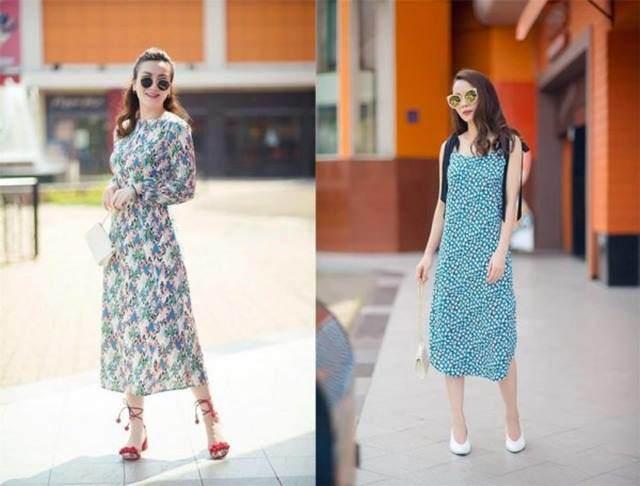 Váy hoa cỏ khoảng 300K lại trở thành hot trend mùa hè, Ngọc Trinh, Hương Giang dẫn đầu xu hướng-5