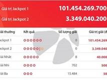 Sau 512 ngày, jackpot 1 của xổ số Power 6/55 lần đầu vượt mốc 100 tỷ