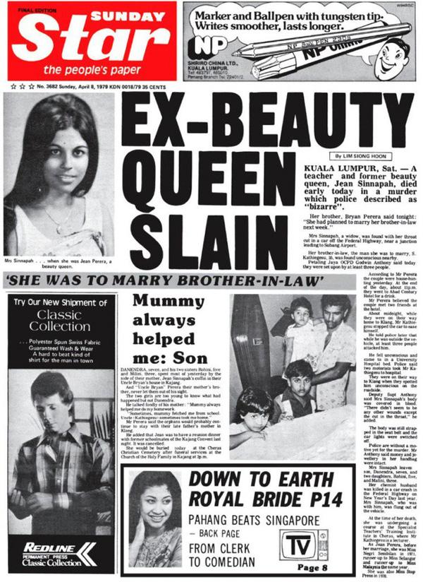 Vụ án giết người bí ẩn nhất lịch sử Malaysia: Cựu nữ hoàng sắc đẹp bị giết hại dã man, hung thủ vẫn còn là ẩn số 40 năm chưa có câu trả lời-4
