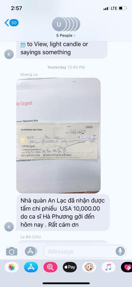 Để tránh hiểu lầm, ca sỹ tỷ phú Hà Phương công khai giấy tờ chuyển tiền đưa thi thể nghệ sĩ Anh Vũ về Việt Nam như đã hứa-1