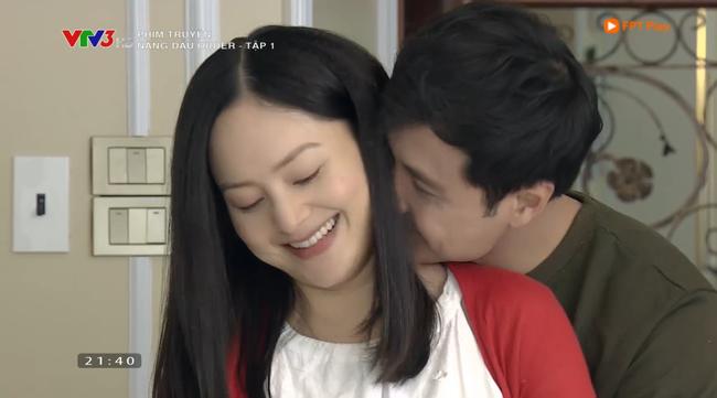 Nàng dâu order tập 1: Chưa có phim truyền hình Việt nào mà mới mở màn, cặp đôi chính đã hở ra là hôn thế này!-4