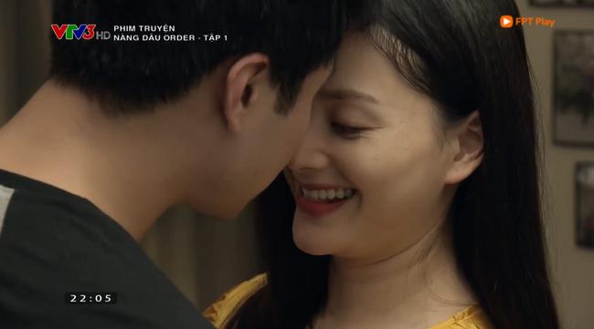 Nàng dâu order tập 1: Chưa có phim truyền hình Việt nào mà mới mở màn, cặp đôi chính đã hở ra là hôn thế này!-8