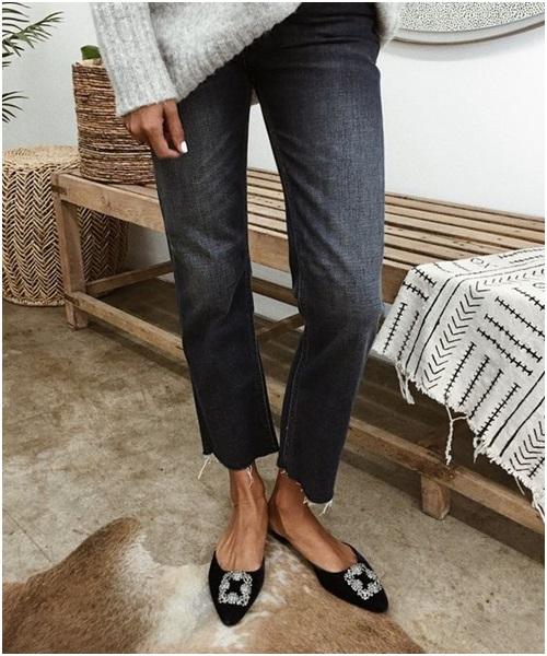 Sinh ra dành cho skinny jeans, chỉ có thể là kiểu giày này!-5
