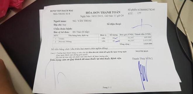 Nhà thuốc số 8 của Bệnh viện Bạch Mai bị tố bán thuốc rởm-1