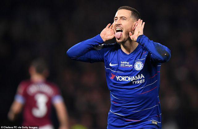 Chelsea 2-0 West Ham: Cú đúp của Hazard-1
