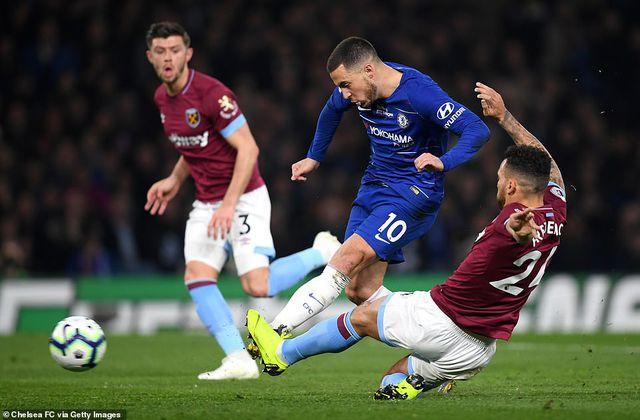 Chelsea 2-0 West Ham: Cú đúp của Hazard-3