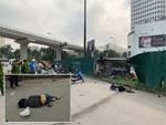 Danh tính nữ tài xế Mercedes mất lái đâm hàng loạt xe máy khiến 3 nạn nhân bị thương, nhiều người hoảng loạn-4