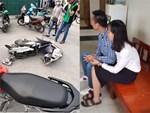 Lại thêm nữ tài xế gây tai nạn, lái xe lao thẳng vào cửa hàng bán hoa quả-2