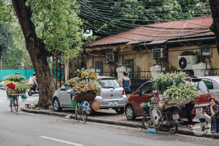 Tháng 4 về, Hà Nội lại dịu dàng những gánh loa kèn trắng tinh khôi, thơm nồng nàn khắp các góc phố-8