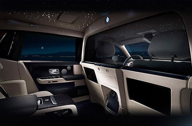 Rolls-Royce Phantom đỉnh cao của sự sang trọng được trang bị thêm vách ngăn ở giữa-6
