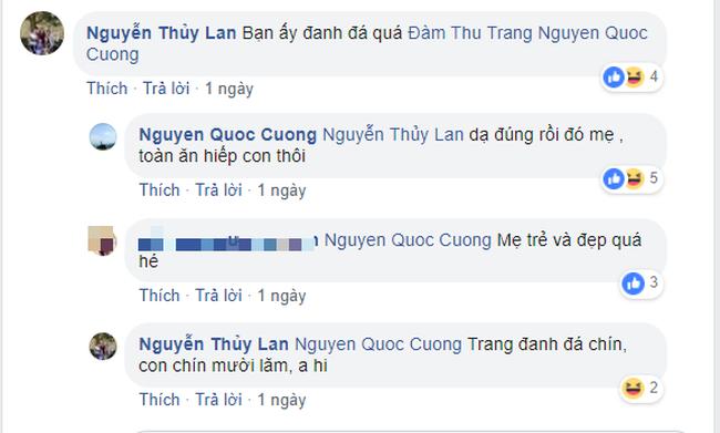 Vừa tung ảnh cưới ngọt ngào, Cường Đô La đã ấm ức mách mẹ vợ bị Đàm Thu Trang bắt nạt-3