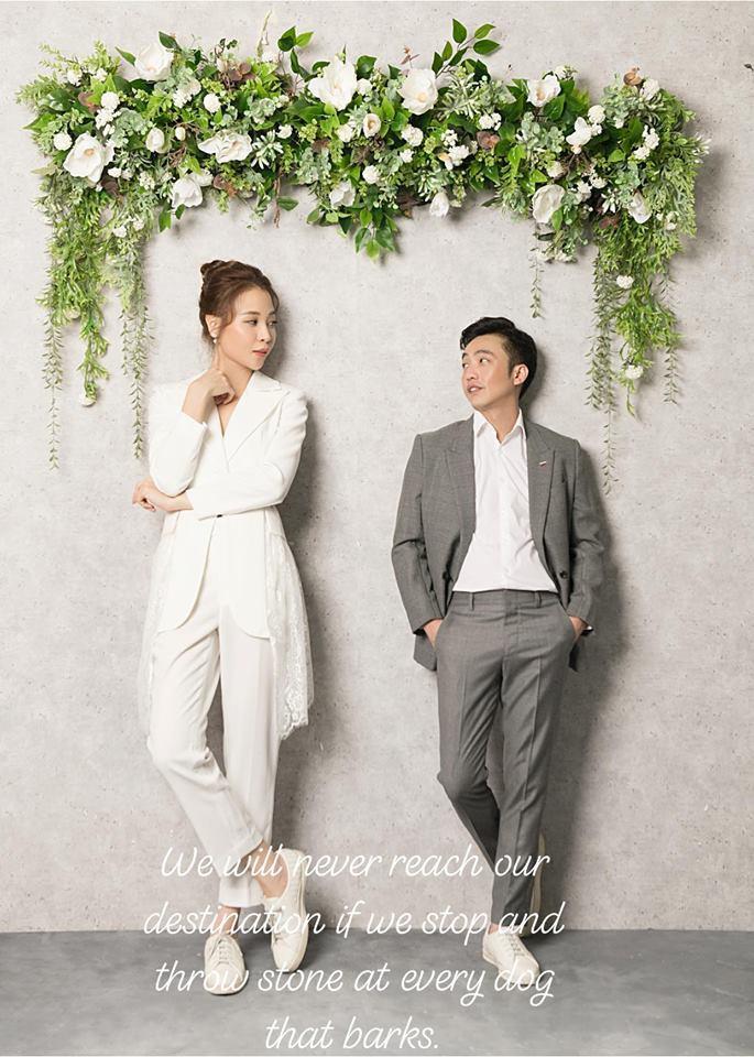 Vừa tung ảnh cưới ngọt ngào, Cường Đô La đã ấm ức mách mẹ vợ bị Đàm Thu Trang bắt nạt-1