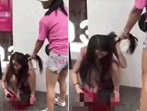 Gặp nhân tình của chồng, vợ lấy giày cao gót đánh hộc máu giữa phố