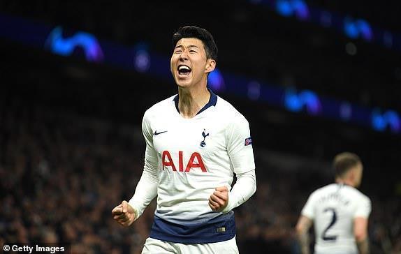 Son Heung-min tỏa sáng giúp Tottenham đánh bại Man City-2